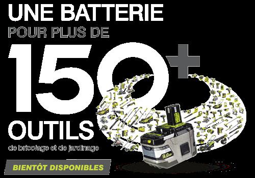 Une batterie pour tous vos outils