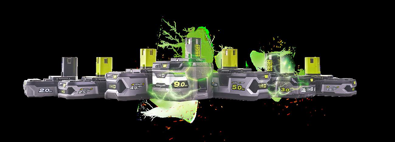 Syv batterikapaciteter - dækker alle dine behov