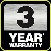 3 ani garanție
