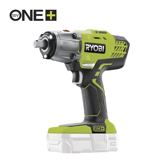 R18IW3-0 18V Cordless 3-Speed Impact Wrench