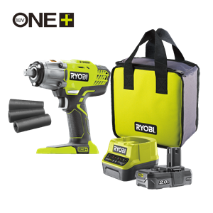 18V Cordless 3-Speed Impact Wrench