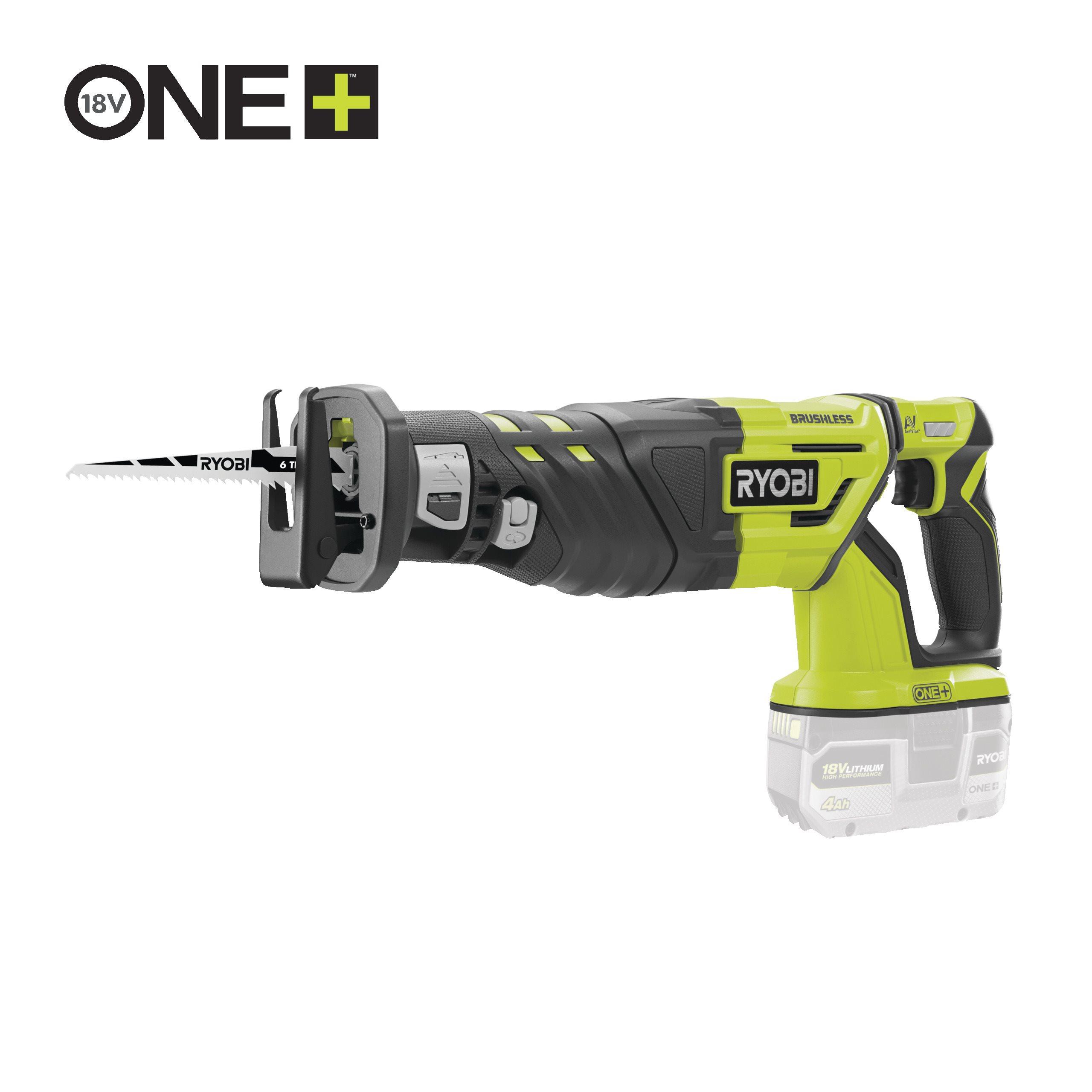 18V Cordless Brushless Reciprocating Saw