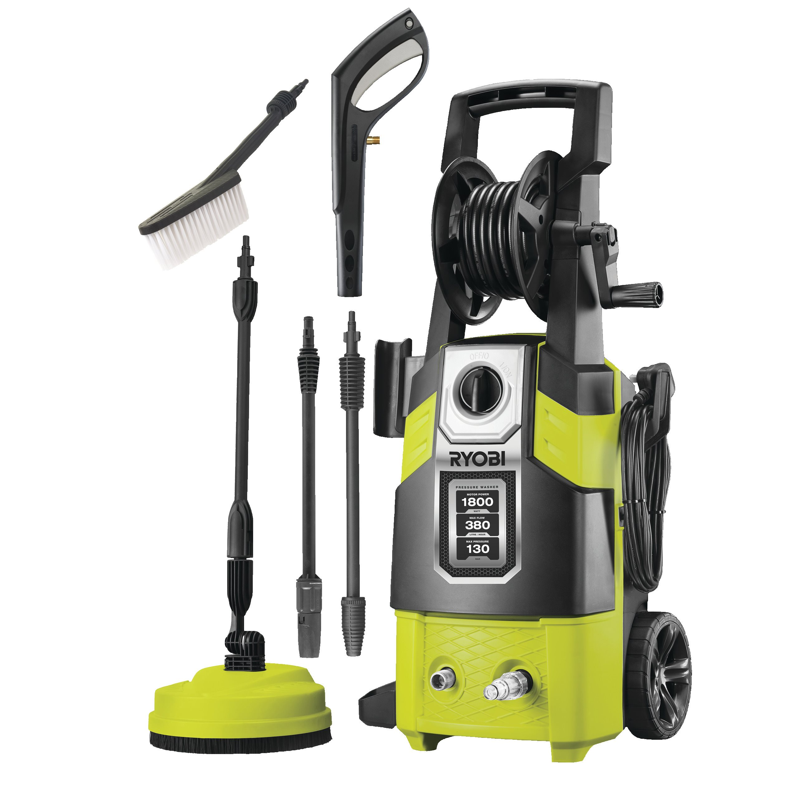 130 Bar Electric Pressure Washer