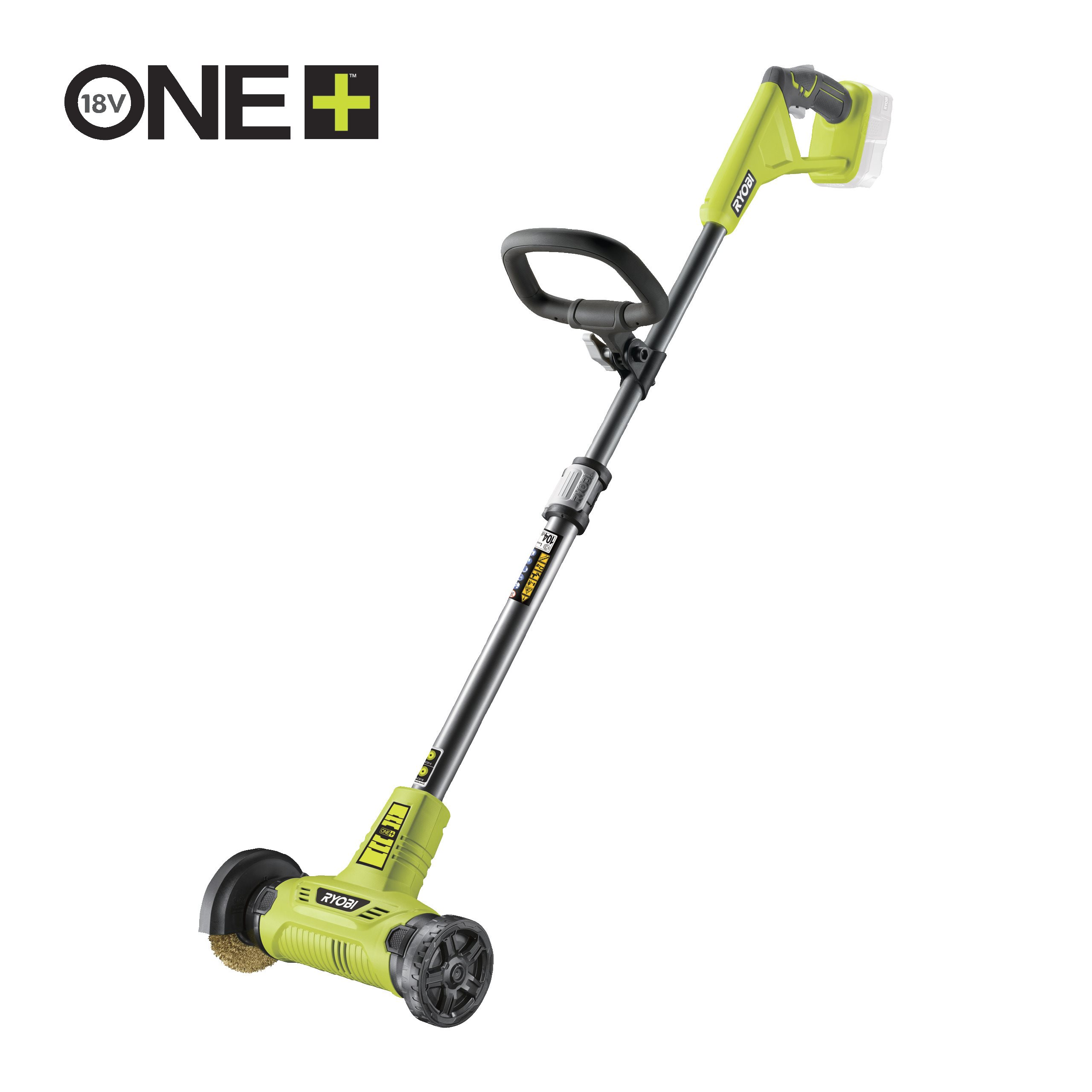 18V Cordless Patio Cleaner with Wire Brush