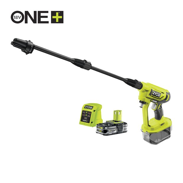 RY18PW22A-125 18V Cordless Power Washer (1 x 2.5Ah)